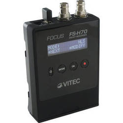 VITEC Focus FS-H70 Portable Proxy Recorder with SDI Input & Wi-Fi Adapter