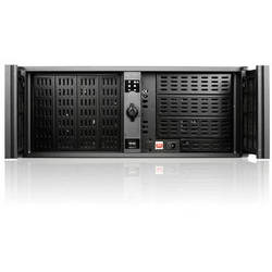 iStarUSA D-400L-7 4U High Performance Rackmount Chassis with Black Bezel
