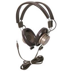 "Califone 610 Binaural Headphones with 1/4"" Mono Cord (Gray/Beige)"