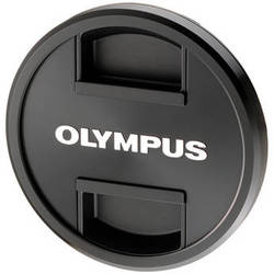 Olympus LC-62D Metal Front Lens Cap for M. Zuiko 12-40mm f/2.8 PRO Lens (Black)