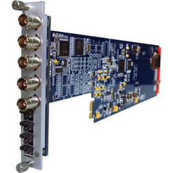 Gra-Vue XIO 9010DES-4AUD Composite Video & Audio to 2 x SD-SDI Converter Card with Frame Sync
