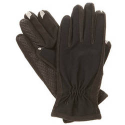 Isotoner smarTouch 2.0 Touchscreen Gloves for Women (Black, Small/X-Small)
