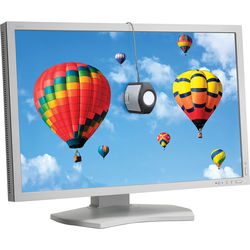 """NEC PA302W-SV 30"""" 16:10 IPS Monitor with SpectraView II (White)"""