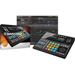 Native Instruments Maschine Studio Groove Production System (Black)