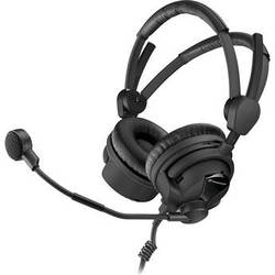 Sennheiser HMD 26-600-II-XQ On-Ear Stereo Broadcast Headset with 3-Pin XLR & TRS Connectors