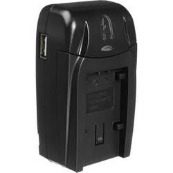Watson Compact AC/DC Charger for For Panasonic VW-VBK, VW-VBL & VBT Batteries