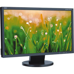 "NEC AS222WM-BK 22"" LED Backlit Widescreen LCD Desktop Monitor with Built-In Speakers"