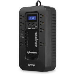 CyberPower EC650LCD Ecologic Series Uninterruptible Power Supply