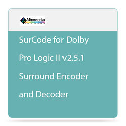 SurCode SurCode for Dolby Pro Logic II v2.5.1 - Surround Encoder and Decoder (Rental)