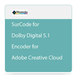 SurCode SurCode for Dolby Digital 5.1 Encoder for Adobe Creative Cloud (Upgrade)