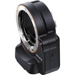 Sony A-Mount to E-Mount Lens Adapter with Translucent Mirror Technology (Black)