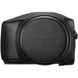 Sony LCJ-RXE Premium Jacket Case for Cyber-shot DSC-RX10 Camera (Black)