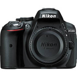 Nikon D5300 DSLR Camera (Body Only, Black)