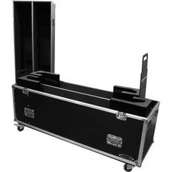 "Odyssey Innovative Designs Flight Zone Dual 60"" Flat Screen ATA Case with Wheels"