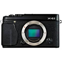 Fujifilm X-E2 Mirrorless Digital Camera (Black, Body Only)