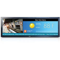 "Orion Images 27"" Wide View Panorama Bar LED Monitor with High Brightness"