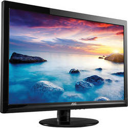 "AOC e2425Swd 23.6"" Widescreen LED Backlit LCD Monitor"