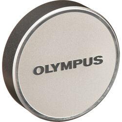 Olympus LC-48B Lens Cap for M.Zuiko Digital 17mm 1:1.8 Lens (Silver)