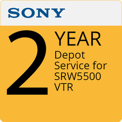 Sony 2-Year Depot Service For SRW5500 VTR