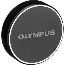 Olympus LC-48B Lens Cap for M.Zuiko Digital 17mm 1:1.8 Lens (Black)