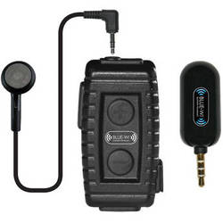 BLUE-WI Nighthawk Sport Bluetooth Lapel Mic with Bullet Speaker