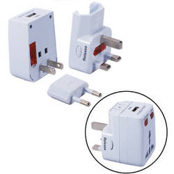 QVS Premium World Power Travel Adapter