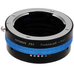 FotodioX Yashica 230 AF Pro Lens Adapter with Built-In Iris for Nikon 1 Cameras