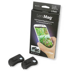 Carson HookUpz LensMag Macro Lens for Samsung Galaxy S4 (2-Pack)