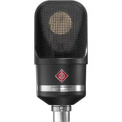 Neumann TLM 107 Multi-Pattern Large Diaphragm Condenser Microphone (Black)