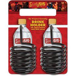 SwirlyGig SwirlyGig Drink Holder (2-Pack, Black)