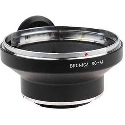 FotodioX Pro Lens Mount Adapter for Bronica SQ Lens to Nikon F Mount Camera