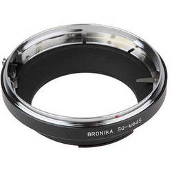 FotodioX Pro Lens Mount Adapter for Bronica SQ Lens to Mamiya 645 Mount Camera