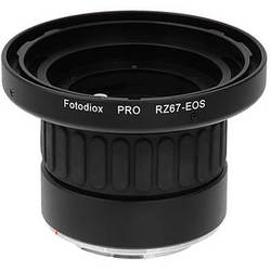 FotodioX Pro Lens Mount Adapter for Mamiya RZ67 Lens to Canon EF Mount Camera
