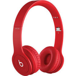 Beats by Dr. Dre Solo HD On-Ear Headphones (Drenched in Red)