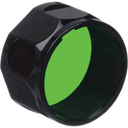 Fenix Flashlight Green Colored Filter Adapter (Large)