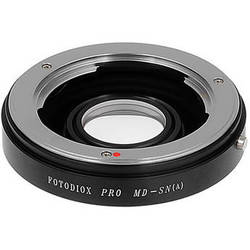 FotodioX Pro Lens Mount Adapter for Minolta MD Lens to Sony A Mount Camera