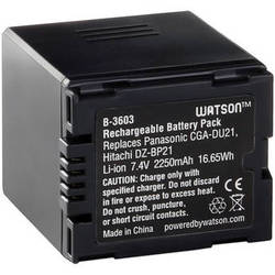 Watson CGA-DU21 Lithium-Ion Battery Pack (7.4V, 2250mAh)