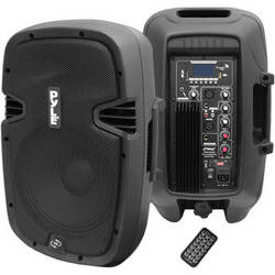 "Pyle Pro PPHP1037UB 10"", 700-Watt Powered 2-Way Speaker"