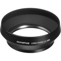 Olympus LH-48B Lens Hood for M.Zuiko Digital 17mm f/1.8 Lens (Black)