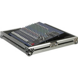 """Odyssey Innovative Designs Foam-Lined ATA Road Case for 19"""" Mixers"""