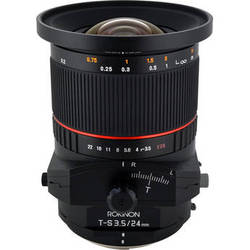 Rokinon Tilt-Shift 24mm f/3.5 ED AS UMC Lens for Pentax