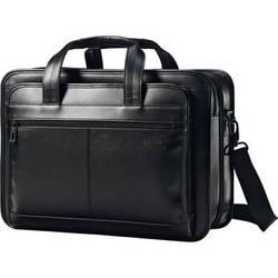 Samsonite Leather Expandable Business Case (Black)