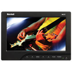 """Marshall Electronics M-CT7 7"""" LCD On-Camera HDMI Monitor with AA Plate / Batteries / Charger"""