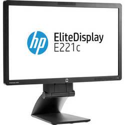 "HP D9E49A8 EliteDisplay E221c 21.5"" LED Backlit IPS Monitor Smart Buy, (Black)"