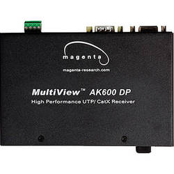 Magenta Research AK600DP-SMultiView II Video, Stereo Audio & Addressable Duplex Serial Cat5/6 Receiver