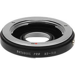 FotodioX Pro Lens Mount Adapter for Minolta MD Lens to Nikon F Mount Camera