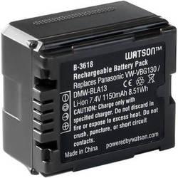 Watson VW-VBG130 Lithium-Ion Battery Pack (7.4V, 1150mAh)
