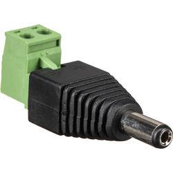 MG Electronics 2.1mm Barrel Plug To Screw Terminal Block