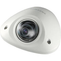 Hanwha Techwin SNV-6012M 2 Mp Full HD Vandal-Resistant Network Mobile Flat Camera with Built-In 3mm Fixed Lens