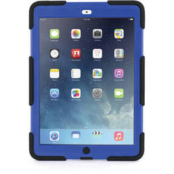 Griffin Technology Survivor Case with Stand for iPad Air (Black/Blue)